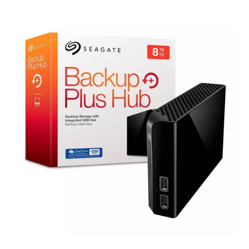 [INT1558] Seagate Backup Plus Hub STEL8000100 - Disco duro - 8 TB