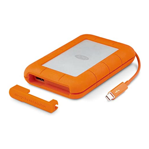 [INT1559] Mini Disco Duro LaCie Rugged Thunderbolt 1 TB