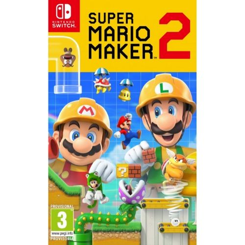 [INN0541] Juego Nintendo Switch Super Mario Maker 2