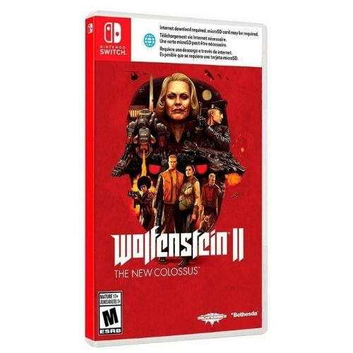 [INN0552] Juego Nintendo Switch Wolfenstein II: The New Colossus